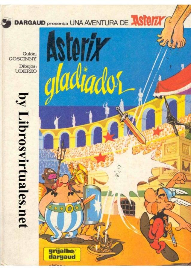 Asterix Gladiador 1