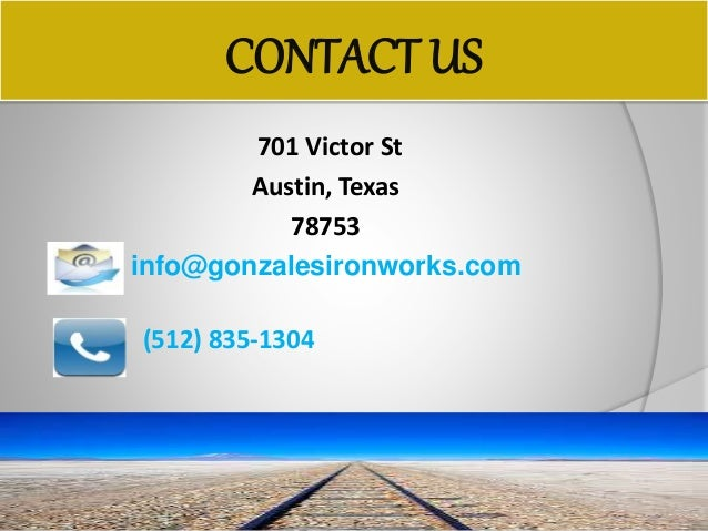 Best Iron Works Company In Austin Texas