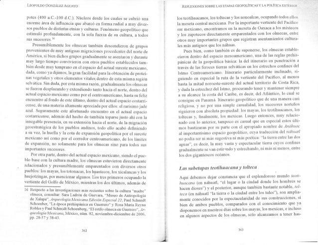 Leoporno GoNzÁr_rz AcuAyo potes (400 a.c.-100 d.c.). Núcleos desde los cuales se cubrió una enonne área de influencia que ...