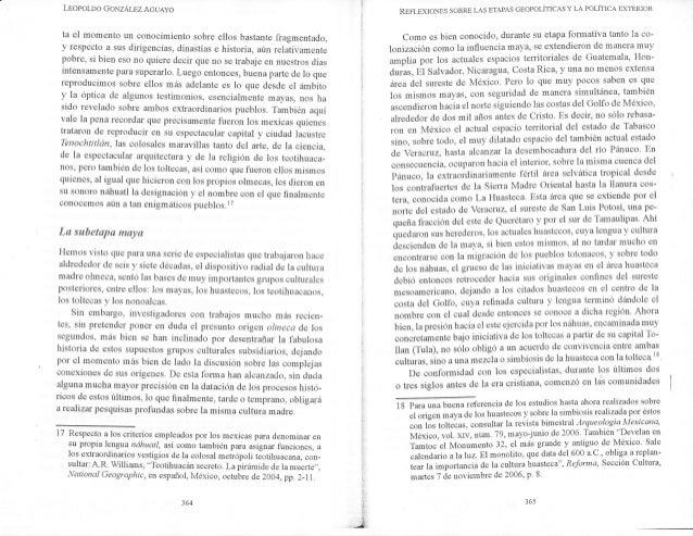 L¡oporoo GoxzÁr_pz AcuAyo ta el momento un conocimiento sobre ellos bastante fragmentado, v respecto a sus dirigencias, di...