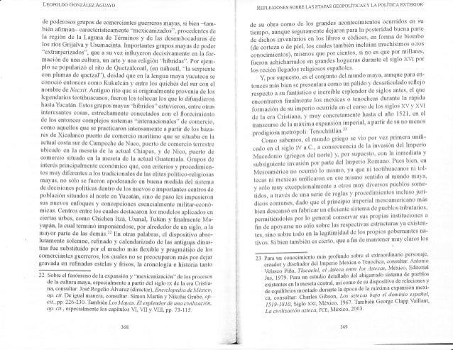 LEoPoLDo GorzÁlrz Acueyo de poderosos grupos de comerciantes guerreros mayas, si bien -tam- bién afi rm an- car acterístic...