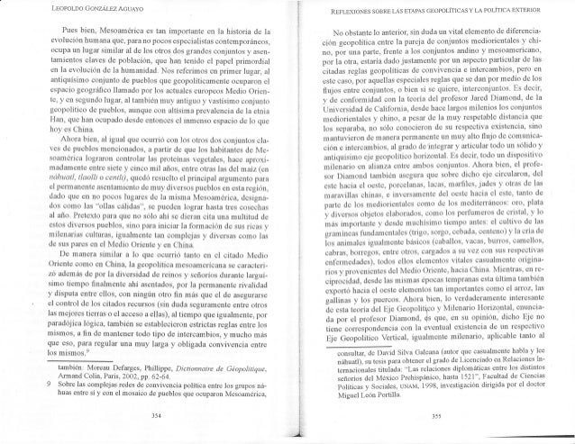 Leopoloo GoNzÁr-sz AcuAyo Pues bien, Mesoamérica es tan importante en la historia de la er¡olución humana que, para no poc...