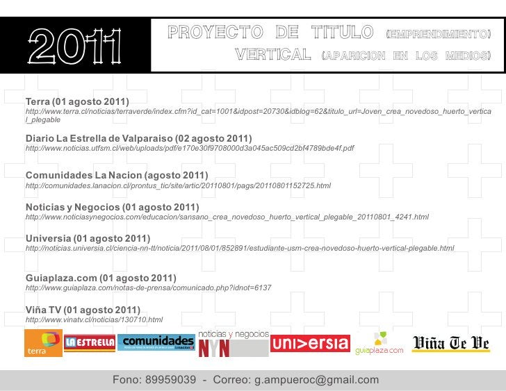 Proyecto de titulo 2011                                                                                                   ...