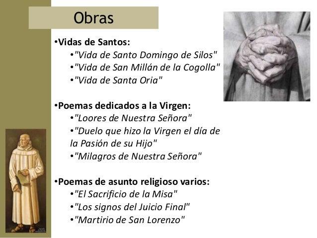 Los Milagros  de Nuestra      Señora   es la obra más      importante   de Gonzalo de           Berceo           Manuscrit...