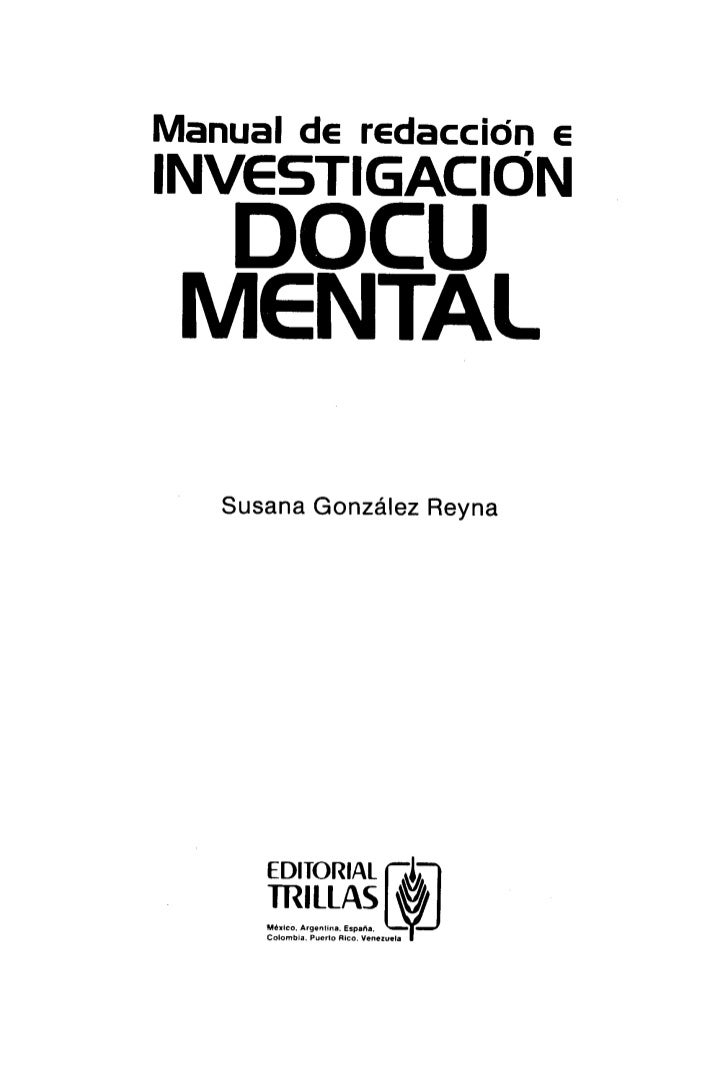 Manual de Redacción e Investigación Documental