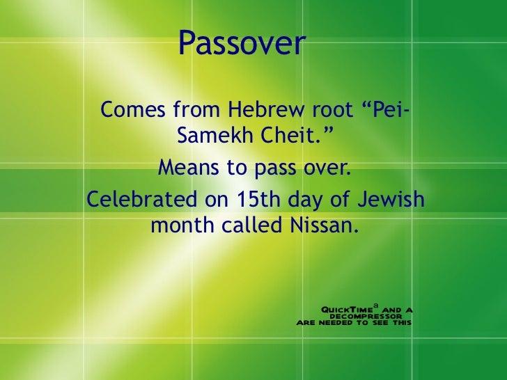 Passover PPT