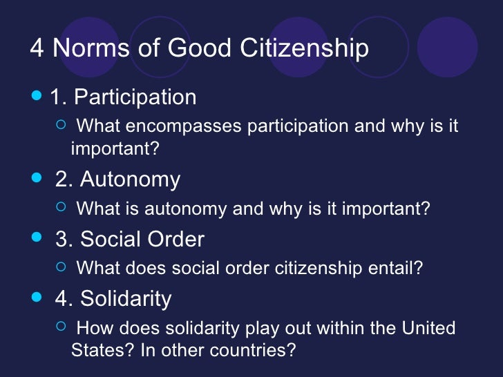 qualities of a good citizen essay A good citizenship essay is not difficult to write this article will help you, just  follow our tips and you will write a worthwhile essay.