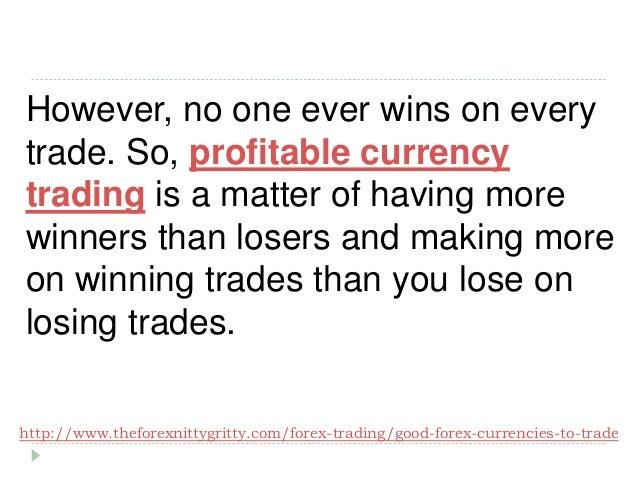 Trade currencies