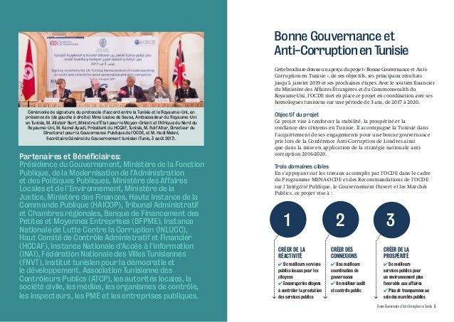 Bonne Gouvernance et Anti-Corruption en Tunisie Slide 2