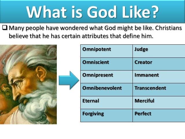 God is omnipotent omniscient omnipresent omnibenevolent