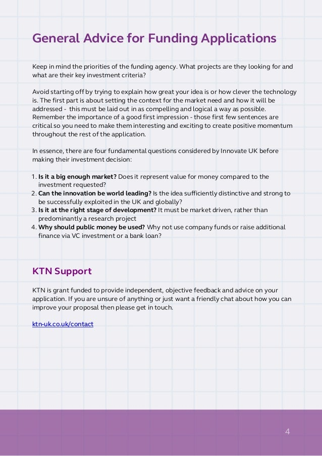 KTN Good Application Guide