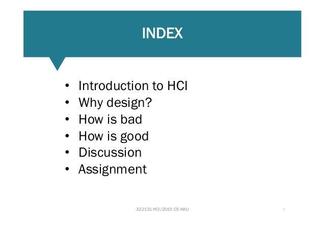 Good bad design Slide 2