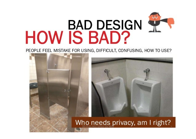 Good bad design
