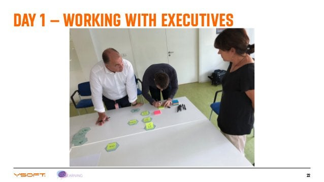 22 DAY 1 – WORKING WITH EXECUTIVES
