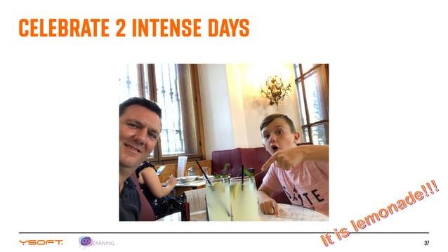 37 CELEBRATE 2 INTENSE DAYS