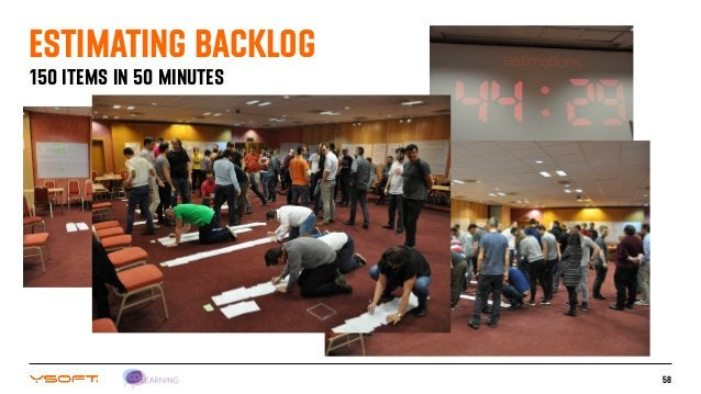 58 150 ITEMS IN 50 MINUTES ESTIMATING BACKLOG