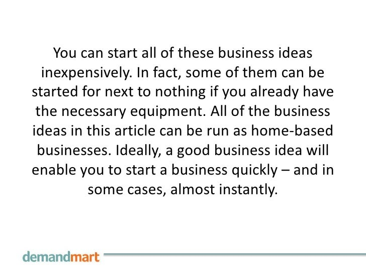 3 you can start all of these business ideas inexpensively