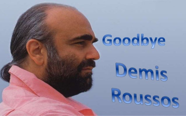 """Artemios """"Demis"""" Ventouris Roussos (15 June 1946 – 25 January 2015) Was a Greek singer and performer who had international..."""