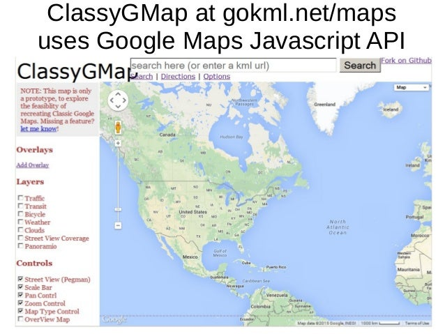 What to do when classic google maps go away classygmap at gokmlmaps uses google maps javascript api gumiabroncs Images