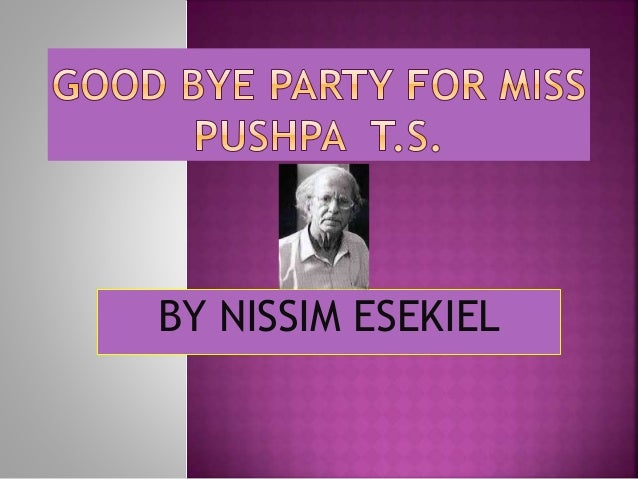 Goodbye Party for Miss Pushpa T. S.