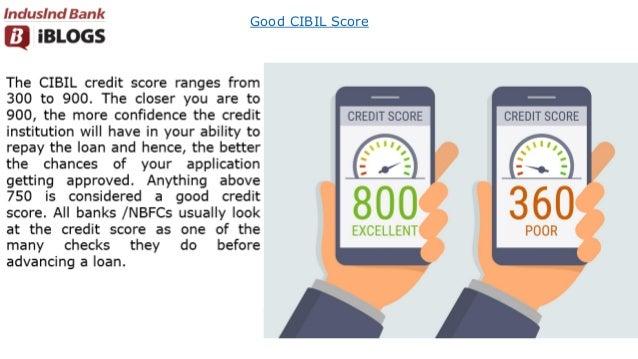 Good CIBIL Score