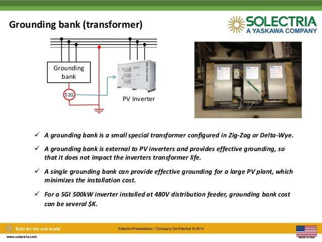 Solectria Smart Inverters, Effective Grounding, and how to