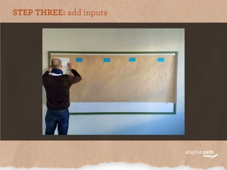 STEP THREE: add inputs