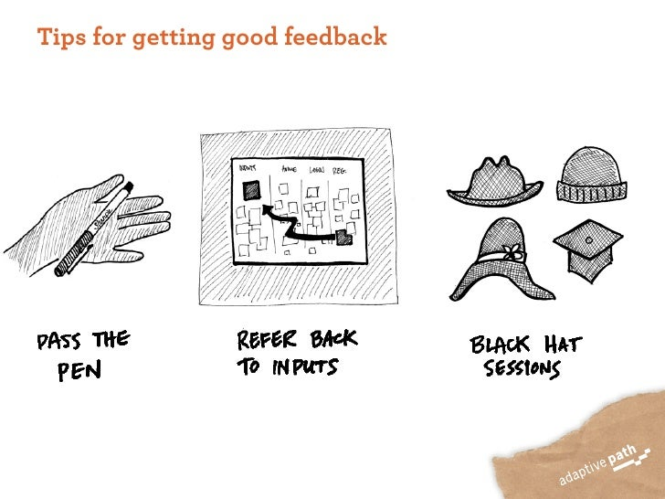 Tips for getting good feedback