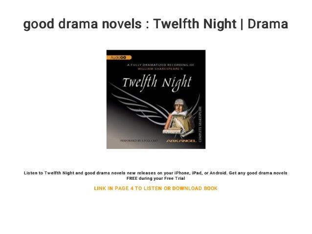 Good Drama Novels Twelfth Night Drama