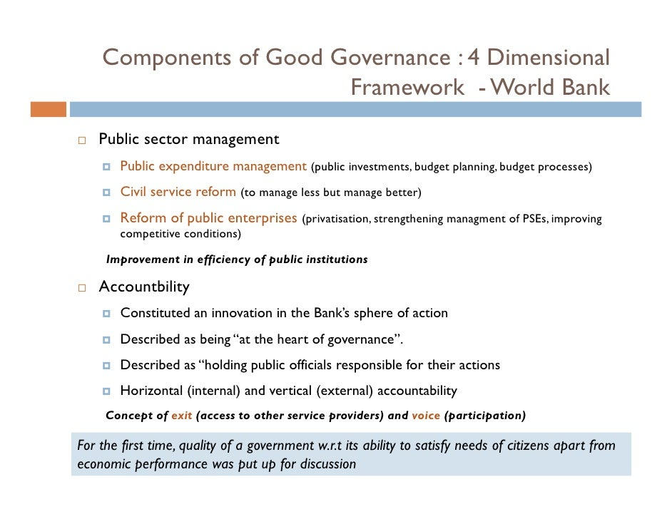 public budgeting and good governance Assessing public expenditure governance: a conceptual and analytical framework iii table of contents summary 1 10 introduction 2 20 defining public expenditure governance 2 30 why assess public expenditure governance 4 40 budget systems and public expenditure governance 6 50 a framework.