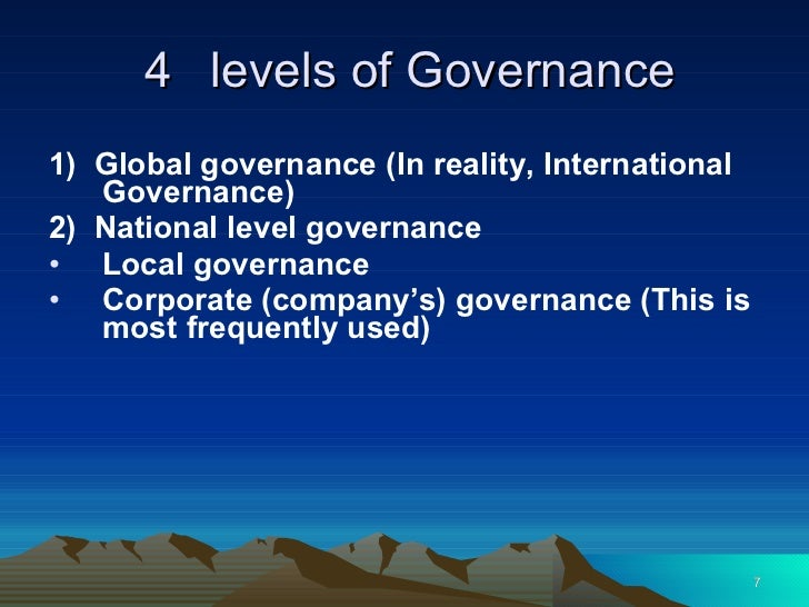 Evidence of effective governance at dell