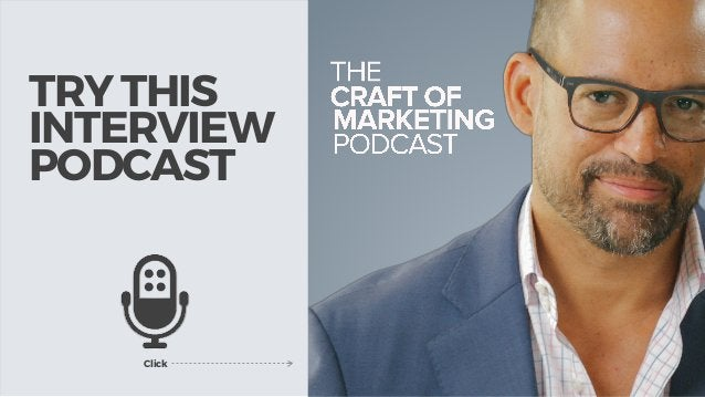 TRY THIS INTERVIEW PODCAST Click