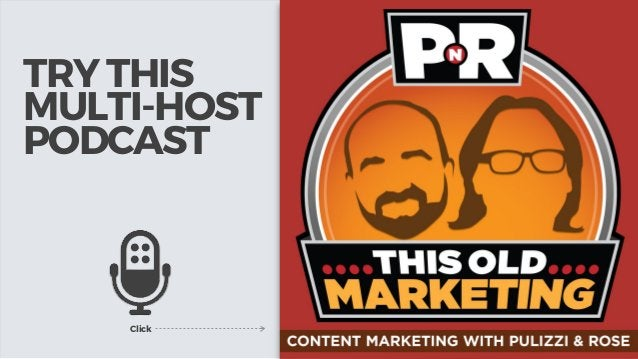 TRY THIS MULTI-HOST PODCAST Click