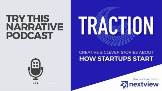 TRY THIS NARRATIVE PODCAST Click