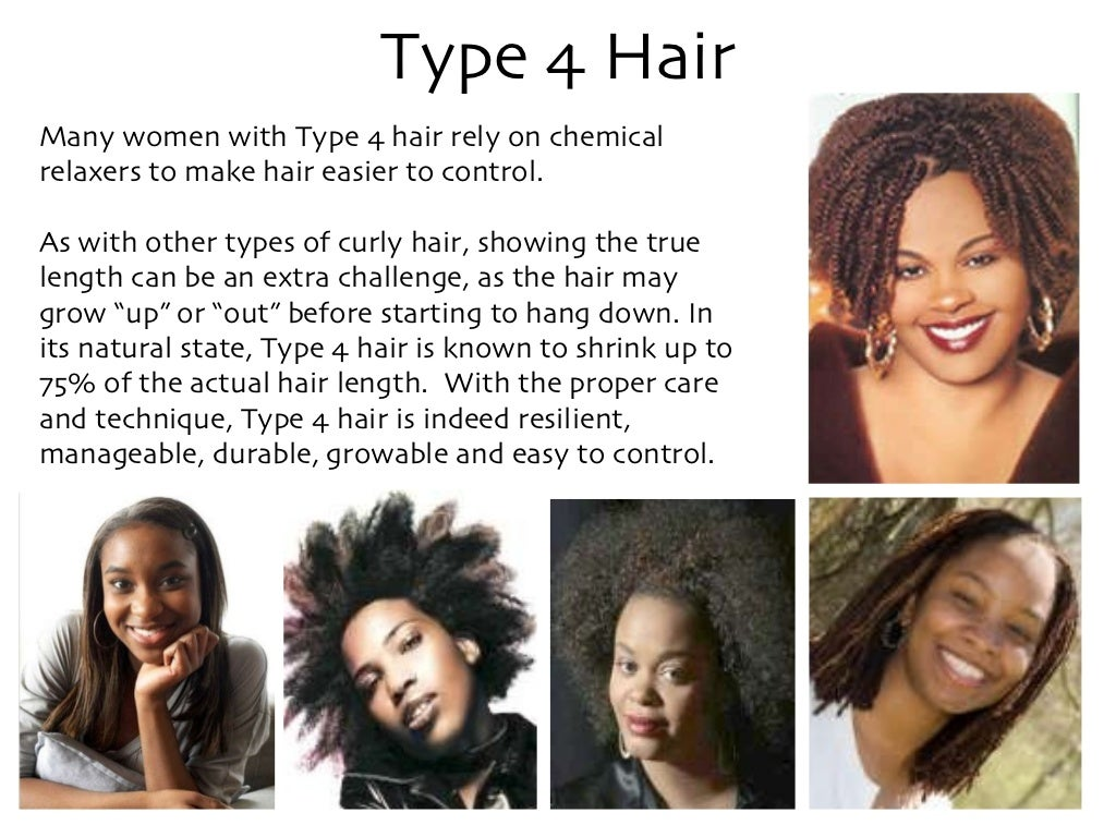 Type 4 Hairstyles: Type 4 Hair Many Women