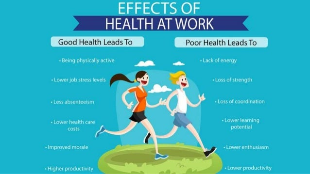 Good Health is Real Wealth at Workplace Slide 3