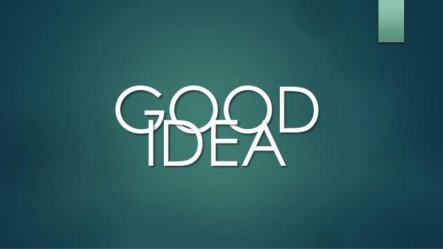 Good idea bad idea for Bad idee