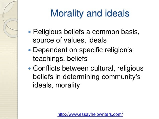 is morality dependent on religion Keywords: cycles of socialisation morality morality and religion moral reasoning   our moral reasoning and associated moral behaviour depend, amongst.