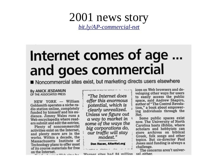 2001 news story bit.ly/AP-commercial-net