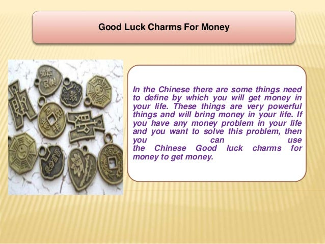 Lucky Charm For Money