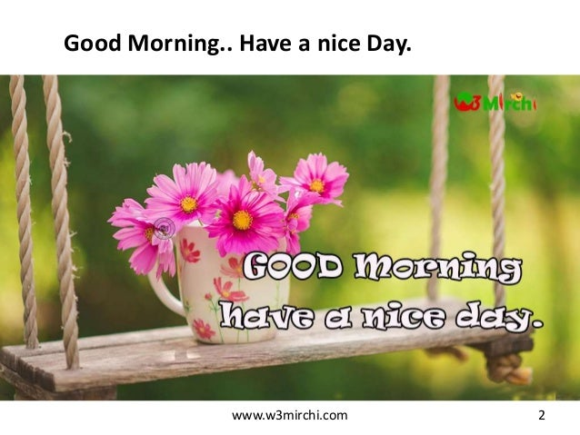 good morning thoughts wishes - photo #13