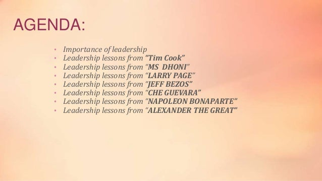 great leaders and their leadership style