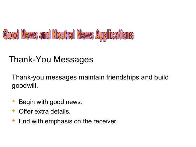 Good News Business Communication