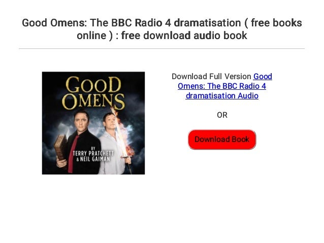 good omens radio drama download