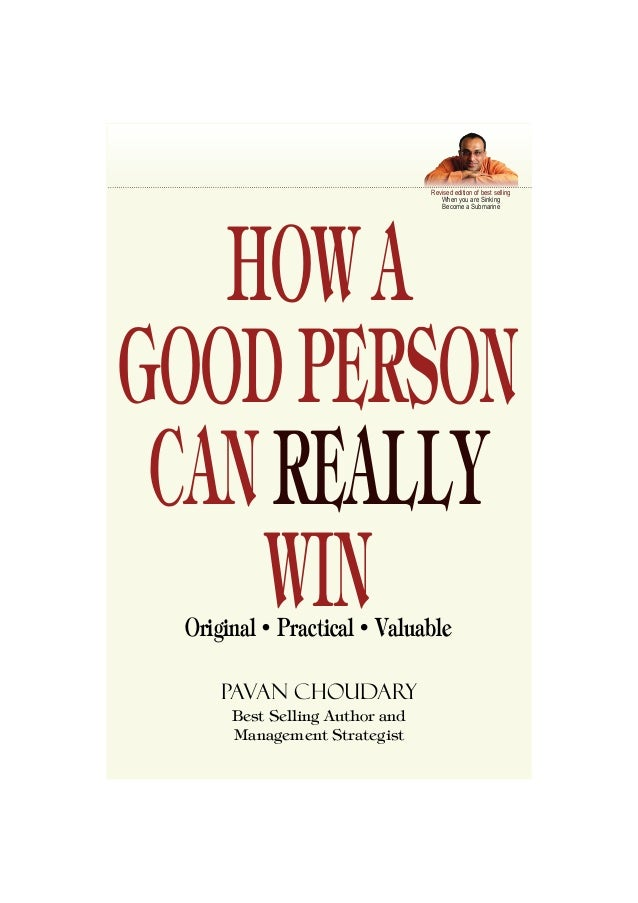how to become good person