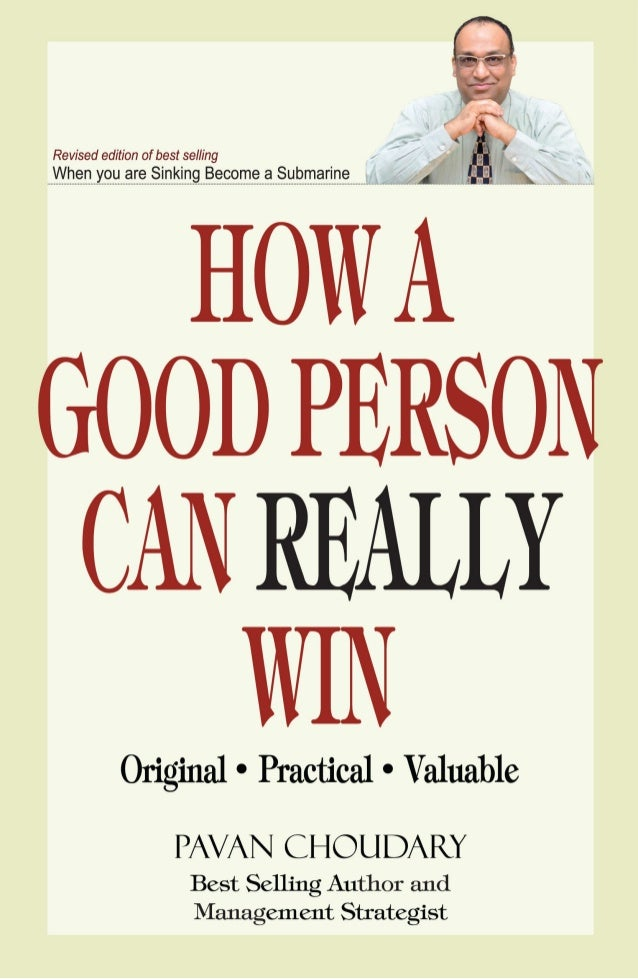 "How a Good Person can Really Win ""How a Good Person can Really Win"" is a good man's guide to success in the real world. It..."