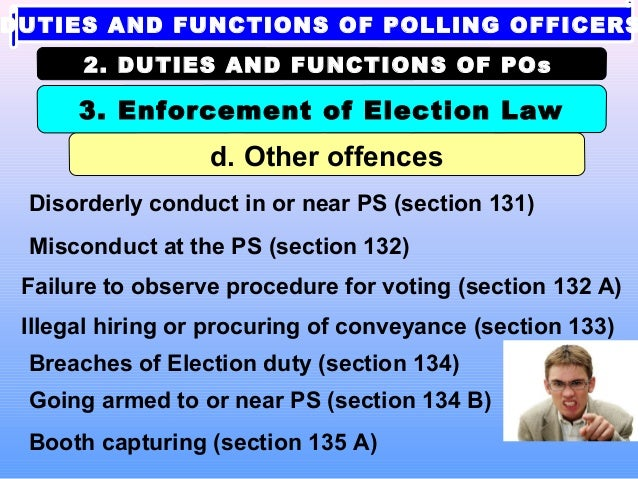 election 2014 tips for polling officers in india rh slideshare net