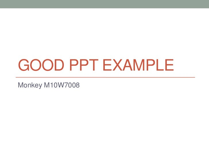 good powerpoint examples