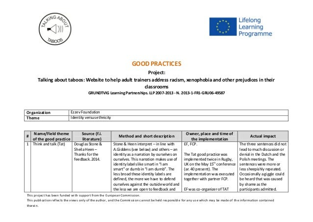 This project has been funded with support from the European Commission. This publication reflects the views only of the au...