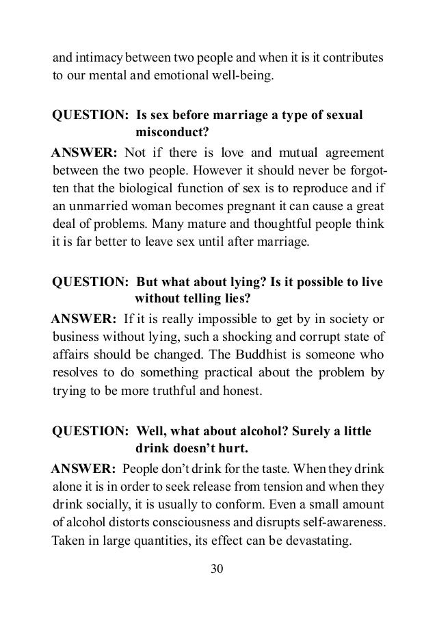 Sexual problem questions and answers